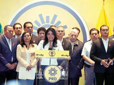 Cambio de dirigencia del PRD sería hasta el 2018