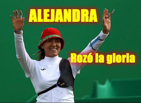 Alejandra Valencia vence a la favorita en tiro con arco — MÉXICO