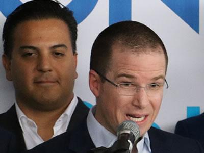 Anaya afirma que 'el PRI Gobierno' busca denostarlo