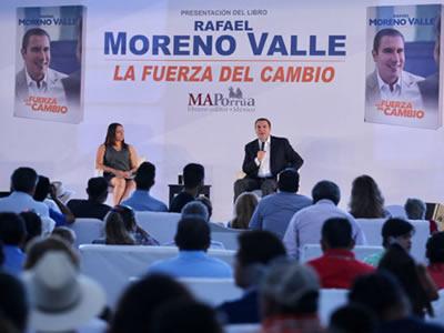 Editorial Porrúa se deslinda de libro de Moreno Valle