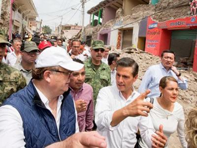 Acusa Obispo desvío de ayuda a víctimas en Morelos