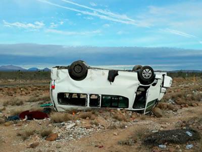 Camioneta en la que se volcó Marichuy es catalogada como insegura