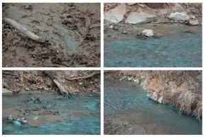 Denuncian contaminantes en el arroyo Milpillas en Sonora.