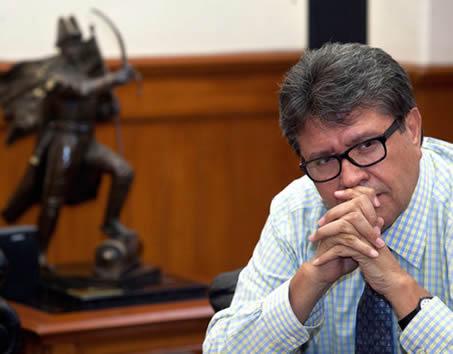 Descarta Monreal ser el candidato del PRI al Gobierno capitalino