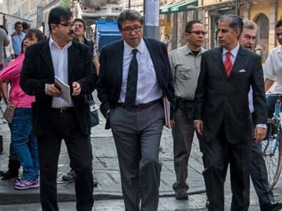 PRD denuncia a Monreal, Batres y Sheinbaum ante INE