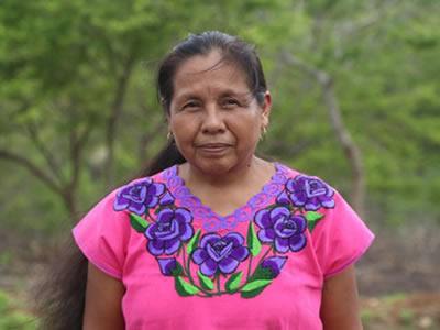 Mujer indígena se registra como independiente por la Presidencia