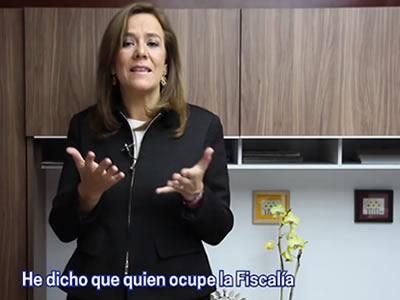 Acusa Enrique Ochoa a Anaya de paralizar el Congreso