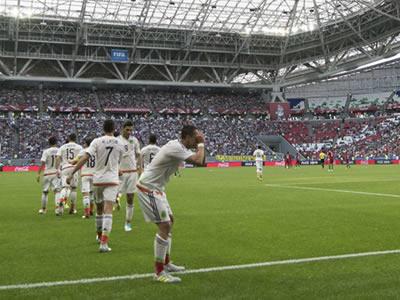 México empató con Portugal en el debut de la Copa FIFA Confederaciones