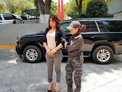 Federales capturan en Toluca a Candela, cuñada de El Carrete