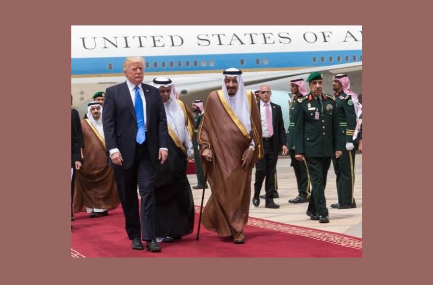 Trump firma un millonario acuerdo de armamento con Arabia Saudita