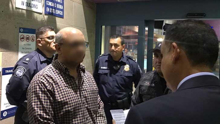 Extradita ICE a ex funcionario de Padrés por Nogales